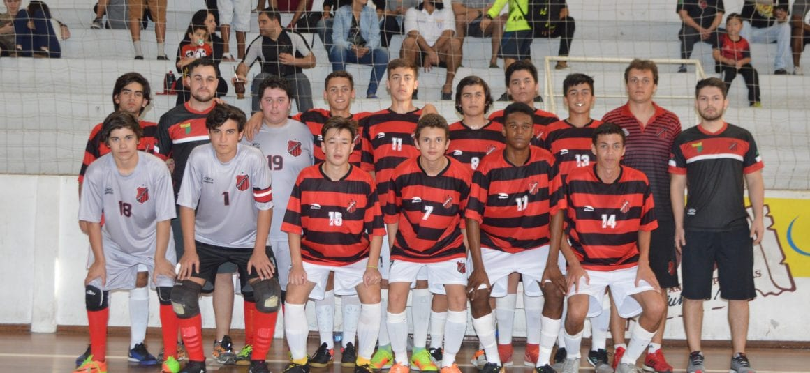 Paulista avança para as quartas de final do estadual sub-15